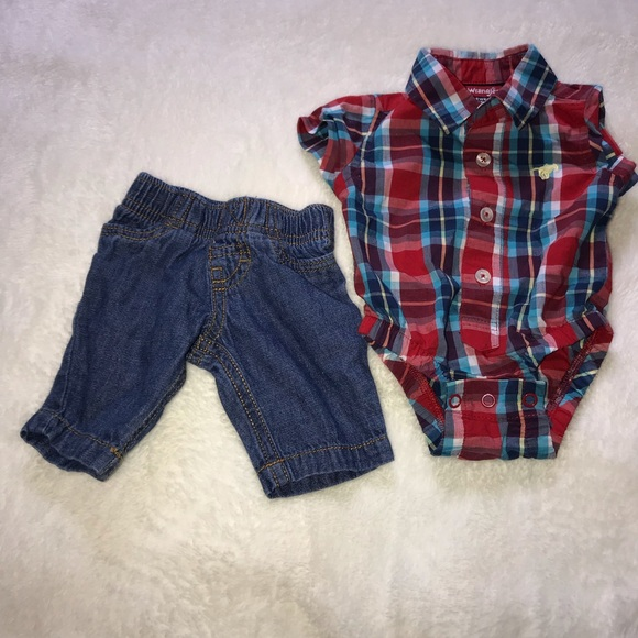Wrangler Other - Newborn outfit
